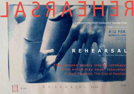 Rehearsal poster