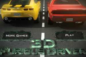 Joaca 3D Furious driver online
