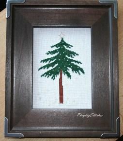 [:ren]Liebevolle Kreuztichentwurfe tree in snow