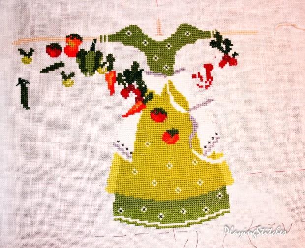 [:ru]Салатовое платье в полный рост