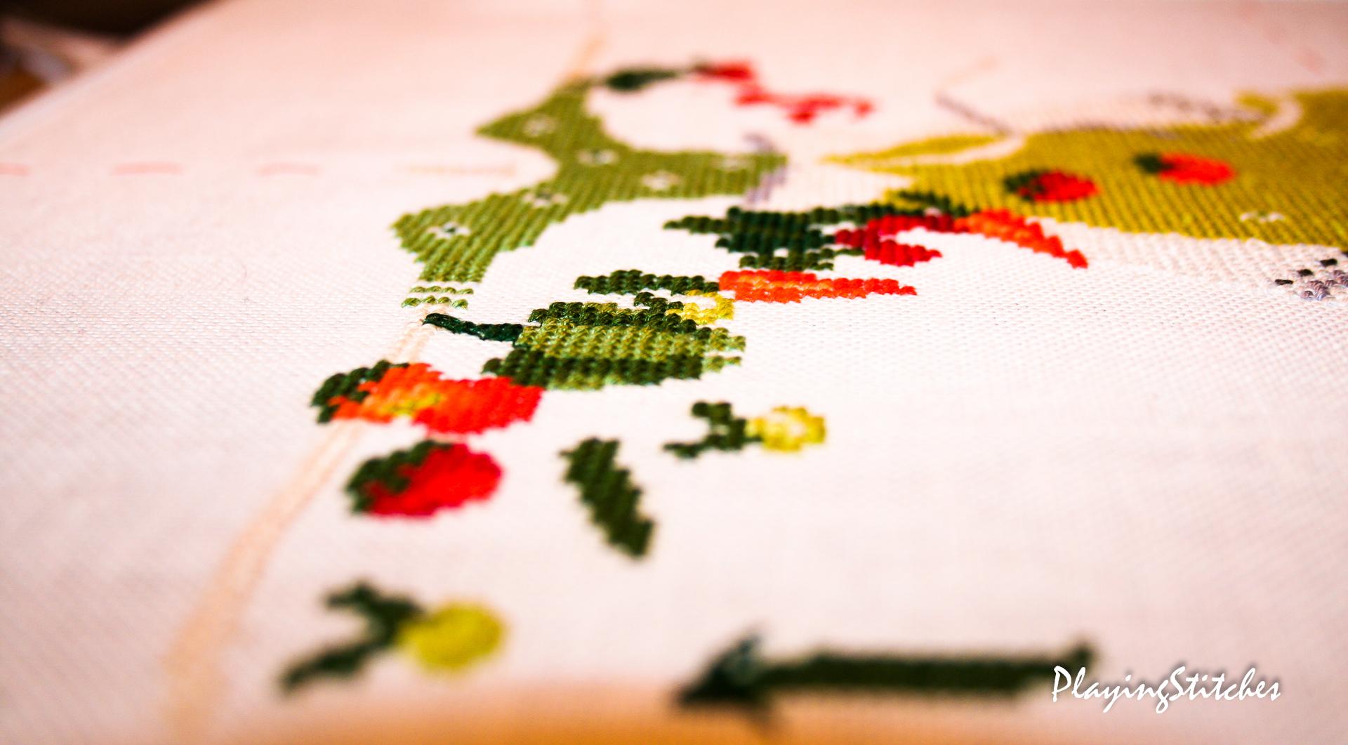 [:en]Liebevolle Kreuztichentwurfe Lulu Belle carrot My Garden carrot [:ru]Liebevolle Kreuztichentwurfe Лулу Белл в огороде салатовое платье
