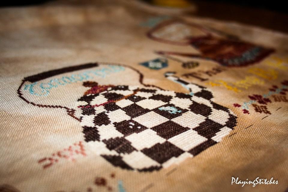 Chess kettle in full beauty