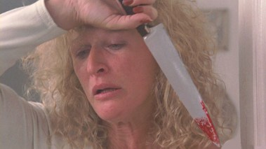 Glenn Close Fatal Attraction knife