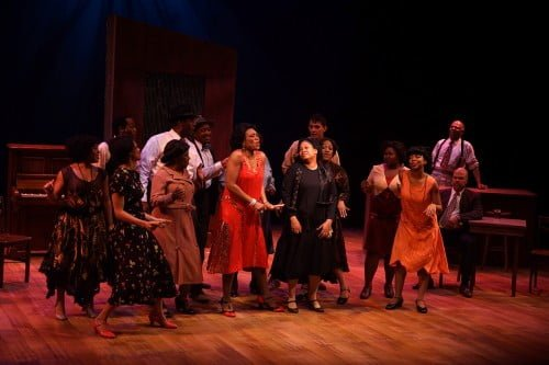 The Color Purple at Park Square Theatre, Regina Marie Williams is Shug Avery. Photos by Petronella J. Ytsma