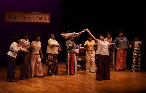 The Color Purple starring Aimee K. Bryant as Celie, Parke Square Theatre, photos by Petronella J. Ytsma
