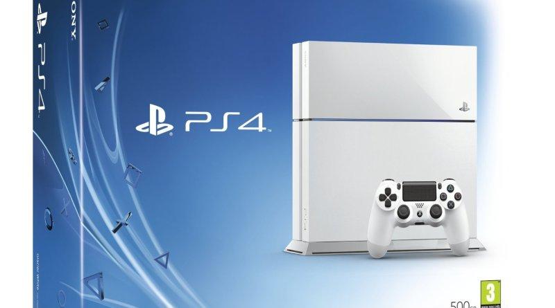 Hvid PS4