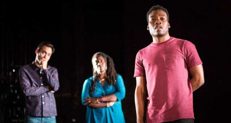 Pigs and Dogs at royal court theatre