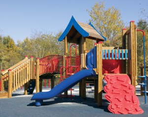 play wood playground structures and themes wooden sliding board