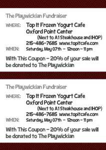 Top It Fundraiser Coupon
