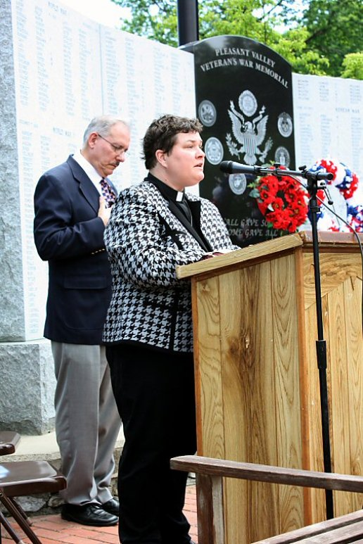 Rev. Megan Sanders of St. Paul's Episcopal Church
