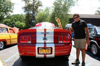 Tony Sansone and his 2008 Cervini Mustang