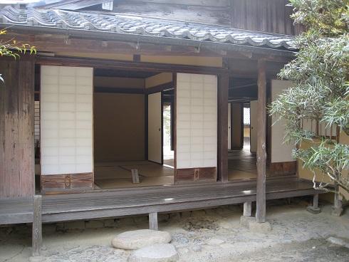 吉田松陰旧宅の部屋