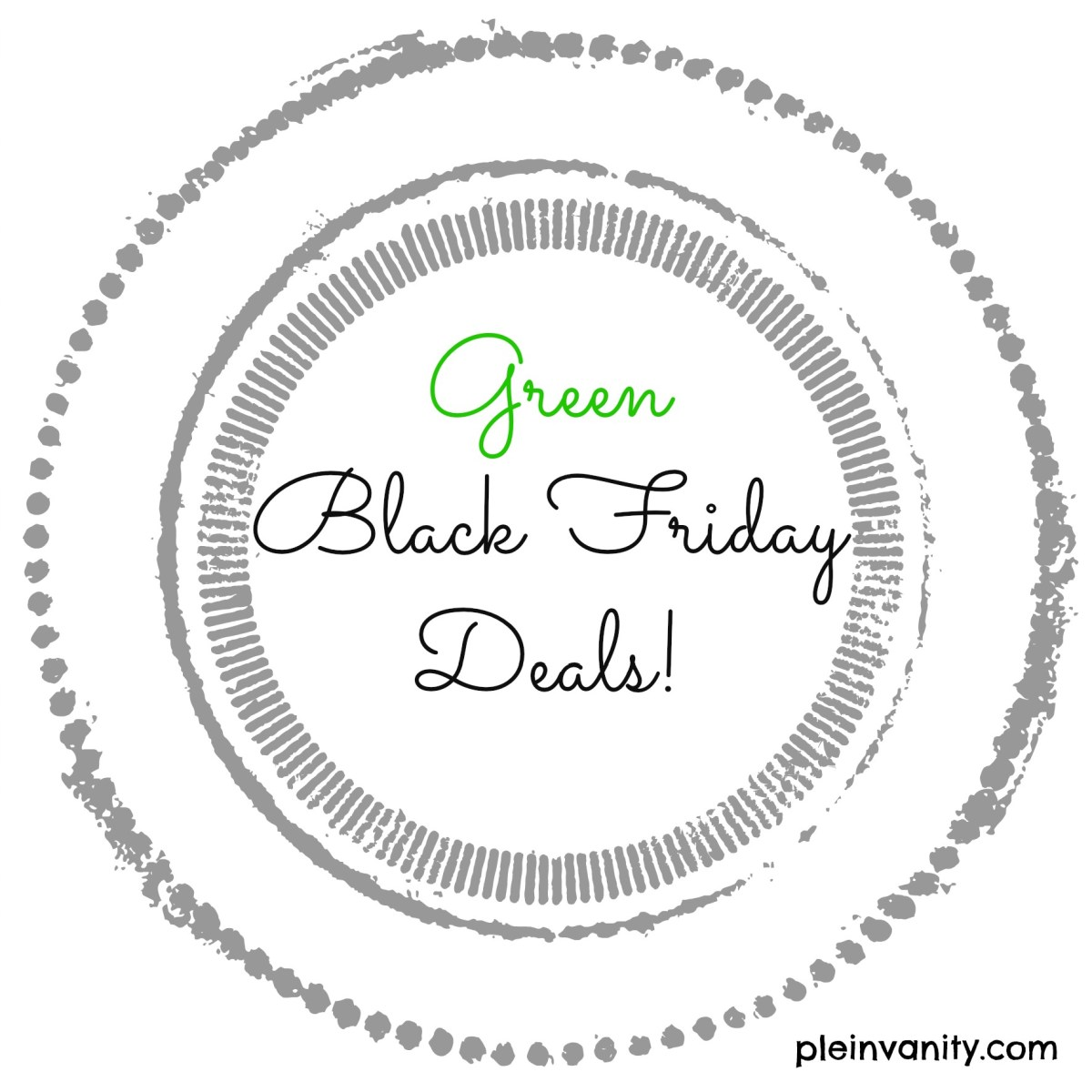 Celebrate a Green Black Friday 2014!