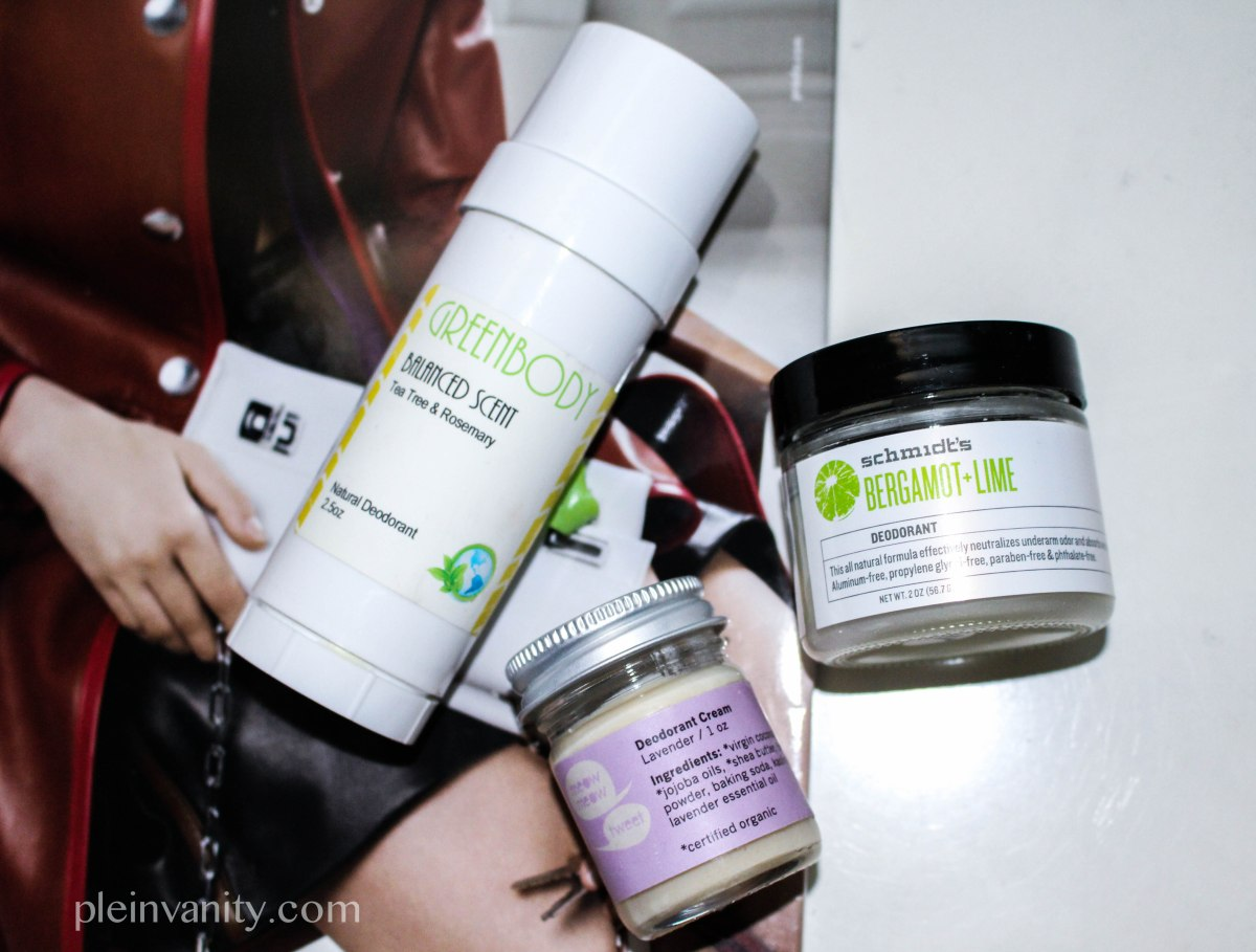 99 Problems But My Pits Ain't One: Natural Deodorant Roundup