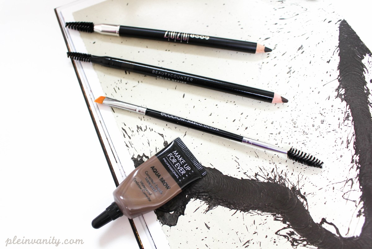 Power to the Brows: My daily brow essentials
