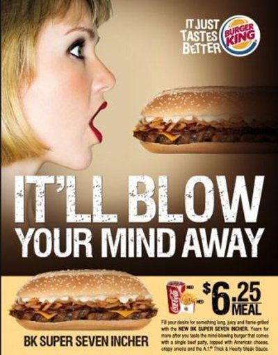 burger king sexist ad blow your mind