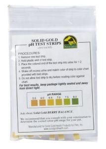 cat urine ph test strips