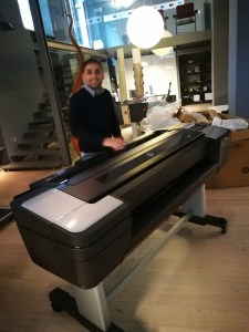 Assistenza plotter hp T1100 errore 86:01 Roma 06-92936229