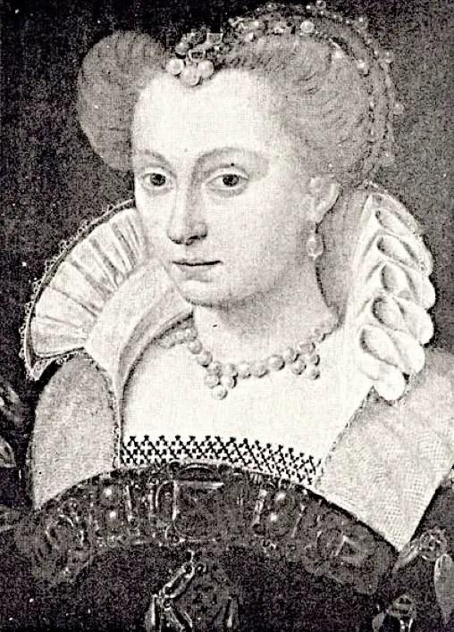 Louise de Lorraine d'après un dessin de Jean Clouet