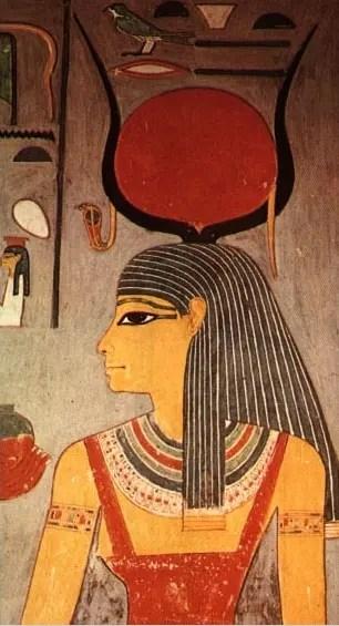 Isis, soeur et épouse d'Osiris