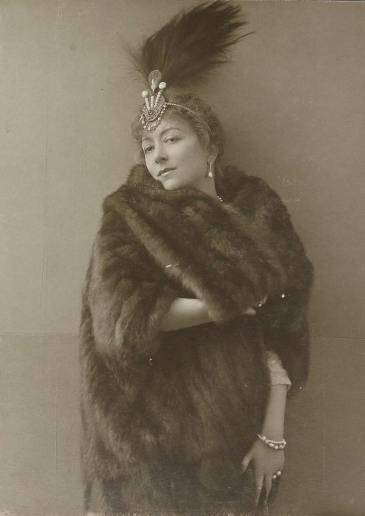 Cécile Sorel (Album Reutlinger Gallica BNF)
