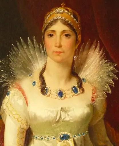 Joséphine par Riesener en1806 - Musée du château de Malmaison