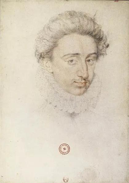 Le futur Henri IV vers 1672 au moment de son mariage avec Margot