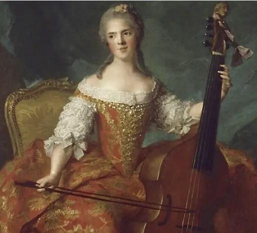 Mesdames de France musiciennes