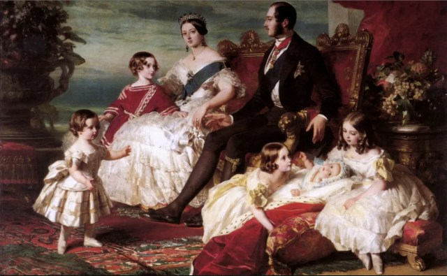 Victoria, Albert et leurs enfants, par Winterhalter en 1846 - Royal Collection, Buckingham palace