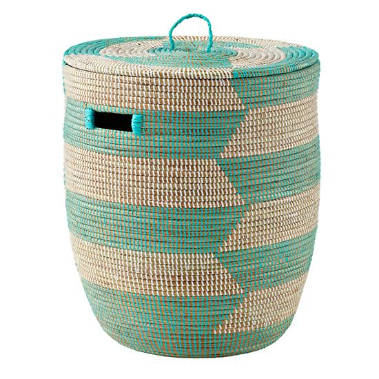 charming-hamper-herringbone-aqua