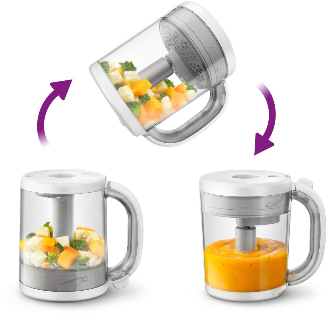 Phillips Avent 4-i-1 babyfoodprocessor