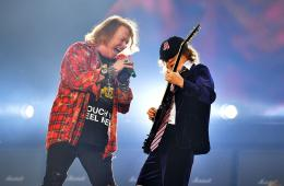 AC/DC. Axl Rose. Manager. Guns N' Rose. Rock or Bust Tour. Cúsica Plus