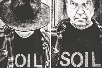 Neil Young celebró sus 71 años protestando en la reserva indígena de Standing Rock. Cusica Plus
