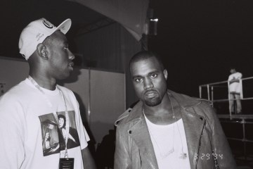 Mira a Kanye West en el estudio en un corto del documental de Tyler, The Creator. Cusica Plus