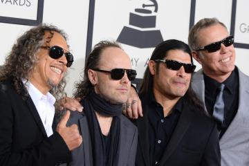 Metallica entre los artistas que se presentarán en la edición 59 del Grammy. Cusica Plus