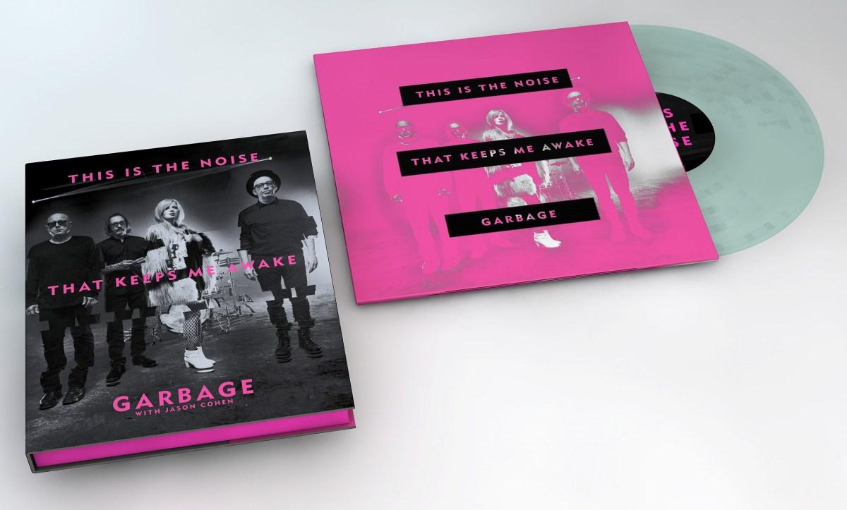 Versión limitada del libro de Garbage. Cusica plus