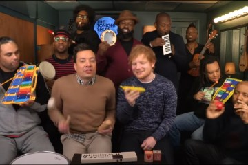 "Ed Sheeran versiona ""Shape of You"" con instrumentos musicales escolares. Cusica plus"