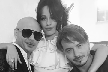 "J Balvin y Pitbull estrenan video de ""Hey Ma"" con Camila Cabello. Cusica plus"