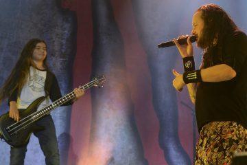 tye trujillo de 12 años es el nuevo bajista de Korn