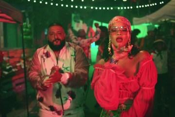 "Rihanna saca sus raíces caribeñas en ""Wild Thoughts"" de DJ Khaled. Cusica plus."