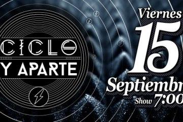 Ciclo y Aparte cambia su fecha al 15 de septiembre. Cusica Plus.