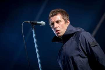 "Liam Gallagher compartió el video en vivo de ""Greedy Soul"". cusica Plus."