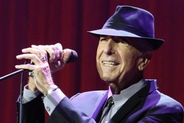 "Mira el nostálgico video para ""Leaving The Table"" de Leonard Cohen. cusica plus."