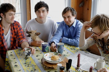 Grizzly Bear interpretó canciones de su reciente disco en 'Jimmy Kimmel Live!'. Cusica Plus.