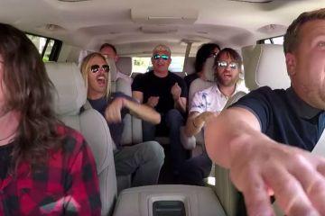 Según Pat Smear grabar 'Carpool Karaoke' puede ser aburrido. Cusica Plus.