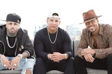"""Daddy Yankee, Nicky Jam y Romeo Santos compiten por una chica en """"Bella y sensual"""". Cusica Plus."""