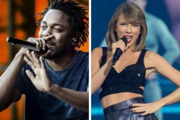 Kendrick Lamar cuenta como fue colaborar con Taylor Swift. Cusica Plus.