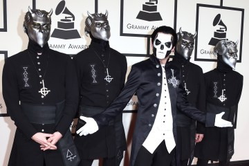 "Ghost invita a varias estrellas del metal al video de ""Dance Macabre"". Cusica Plus."
