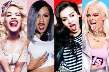 """Rita Ora, Cardi B, Charli XCX y Bebe Rexha apuestan por un himno bisexual en """"Girls"""". Cusica Plus."""