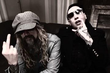 Marilyn Manson y Rob Zombie